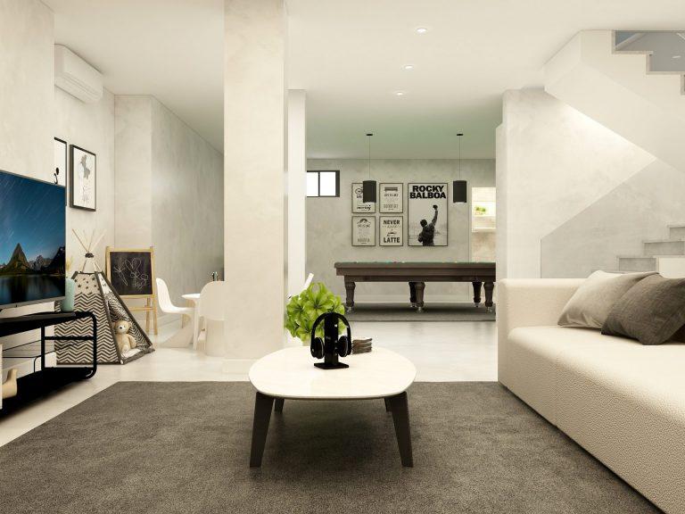 Living Room | Basement