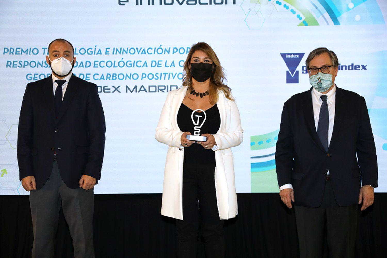 La Casa Geosolar®, Premio Tecnología e Innovación 2021 Responsabilidad Ecológica